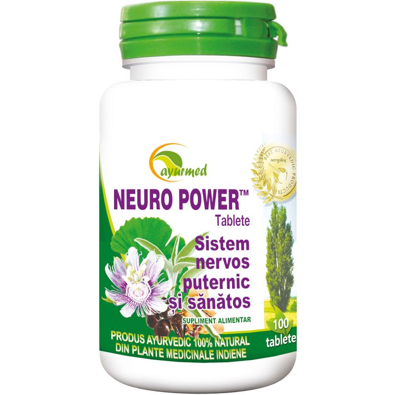 Neuro Power, 100 tablete, Ayurmed