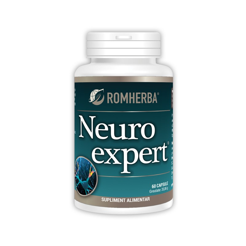 Neuroexpert, 60 capsule, Romherba