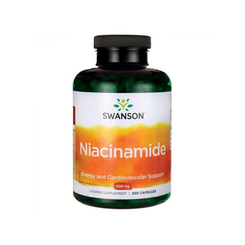 Niacinamide Vitamina B3 500mg, 250 capsule, Vitaking