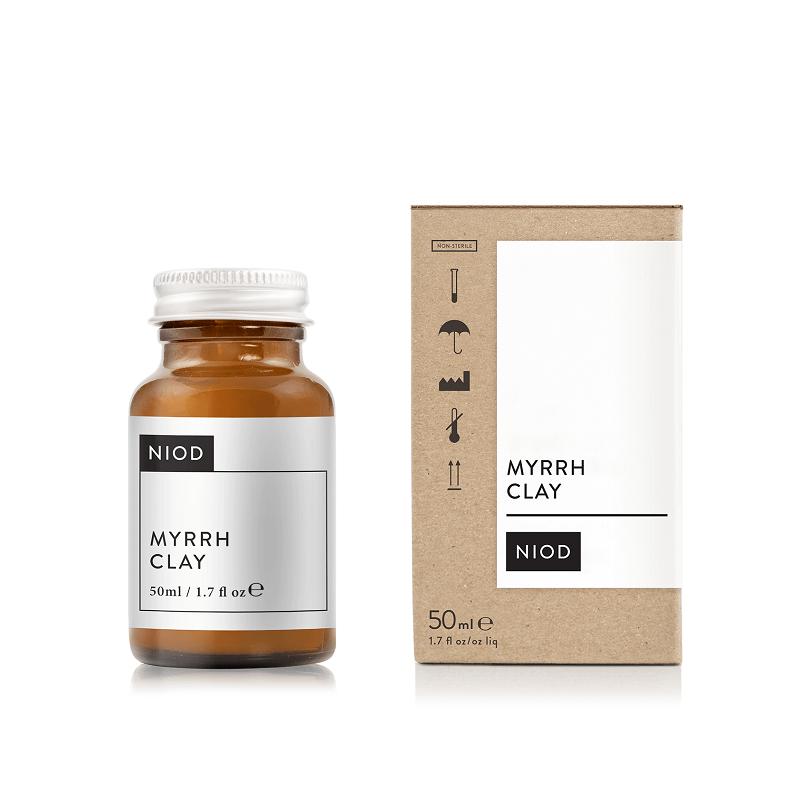 Mască  pentru fermitate Myrrh Clay Niod, 50 ml, Deciem
