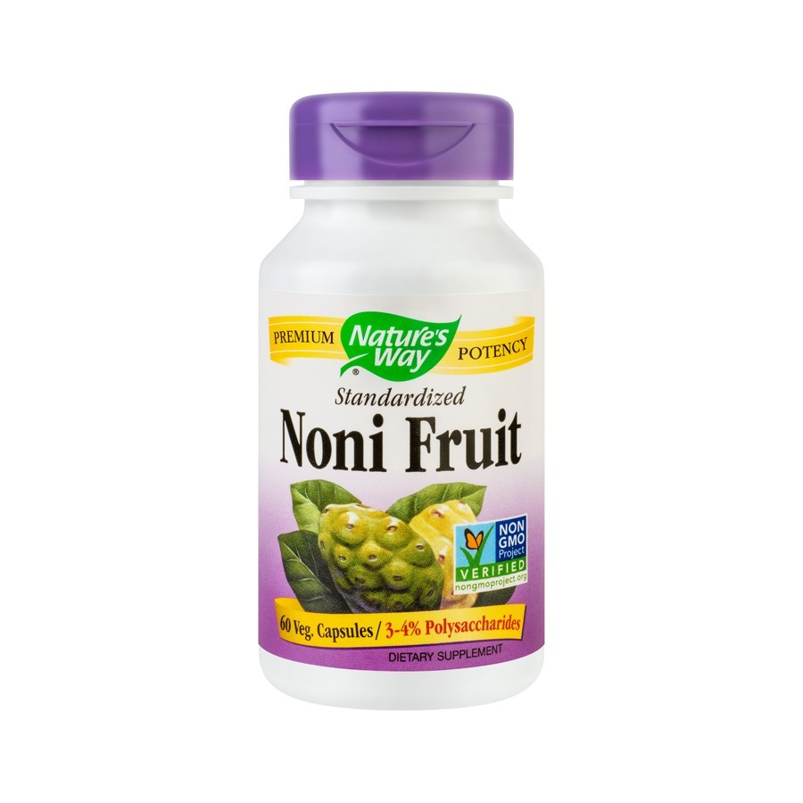 Noni Fruit 500mg Nature's Way, 60 cps, Secom