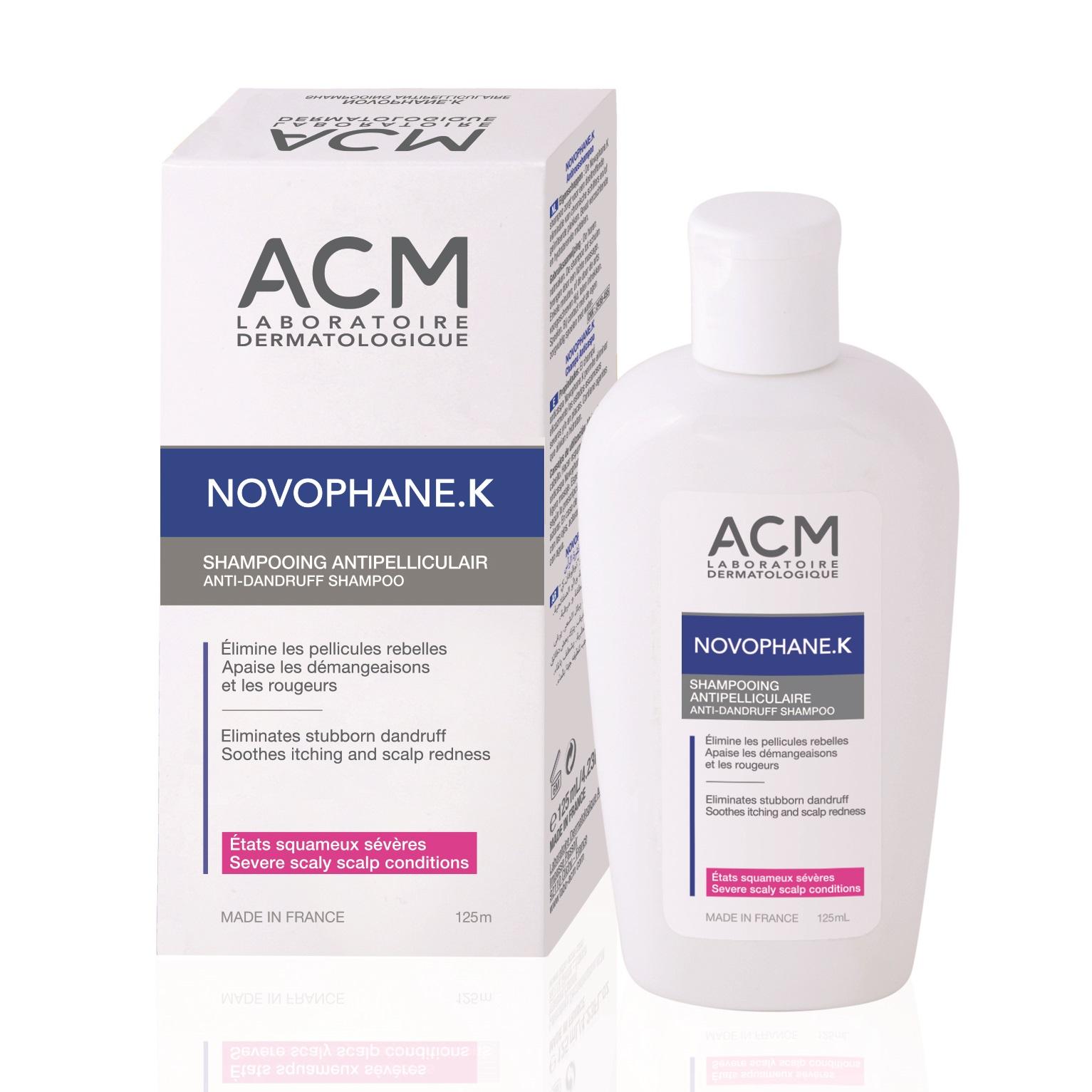Șampon antimătreață Novophane K, 125 ml, Acm