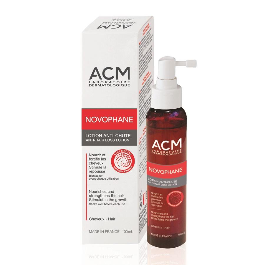 Loțiune împotriva căderii părului Novophane, 100 ml, Acm