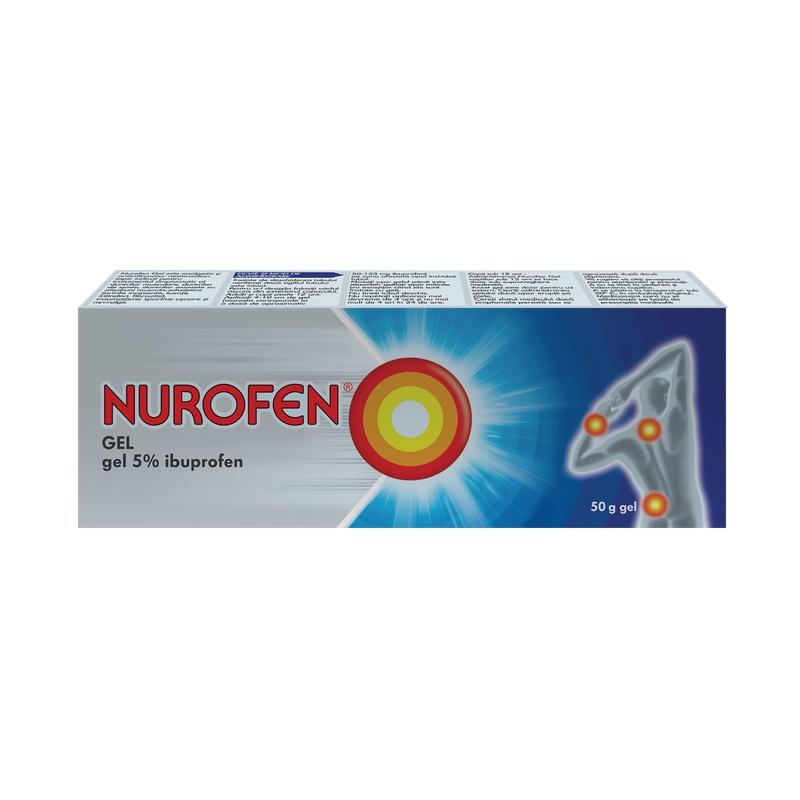 Nurofen Gel 5%, 30 g, Reckitt Benckiser Healthcare