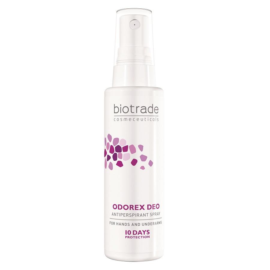 Deo spray antiperspirant împotriva transpirației excesive Odorex Deo, 50 ml, Biotrade