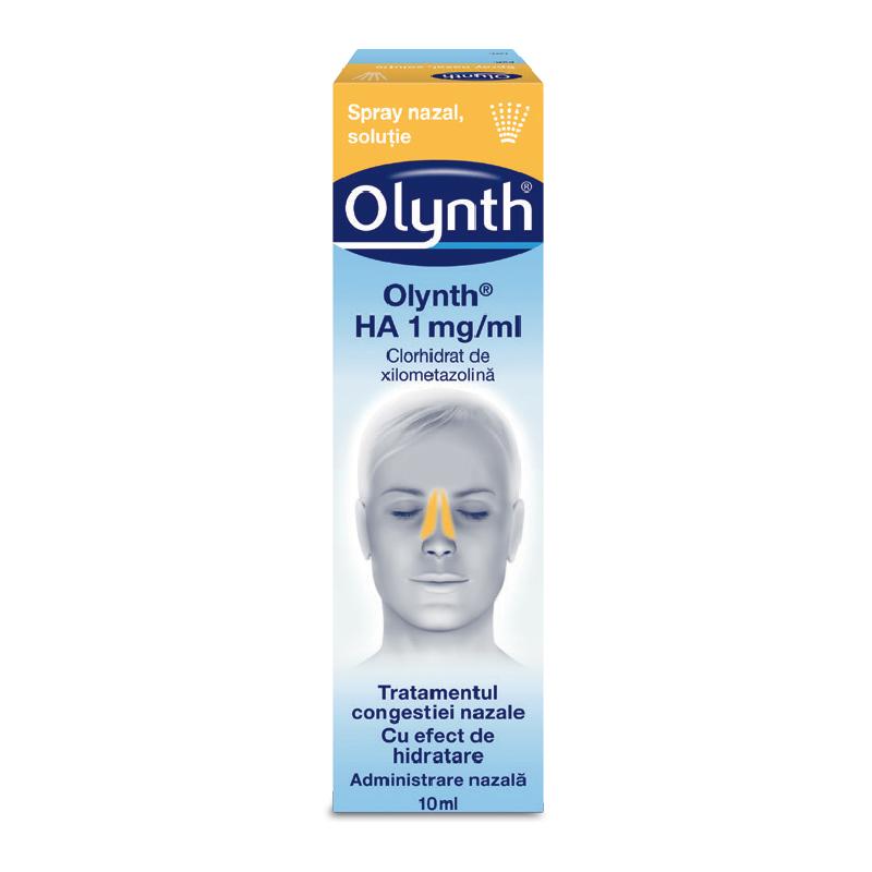 Spray nazal soluție 1mg - Olynth HA, 10 ml, Johnson&Johnson