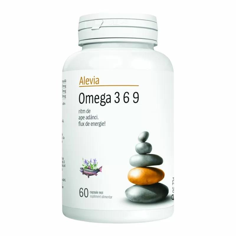 Omega 3 6 9, 60 capsule, Alevia