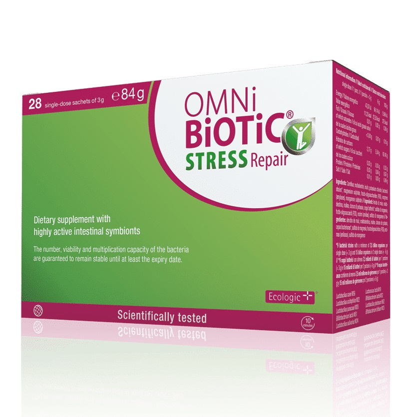 Omni Biotic Stress Repair, 28 plicuri, Institut AllergoSan