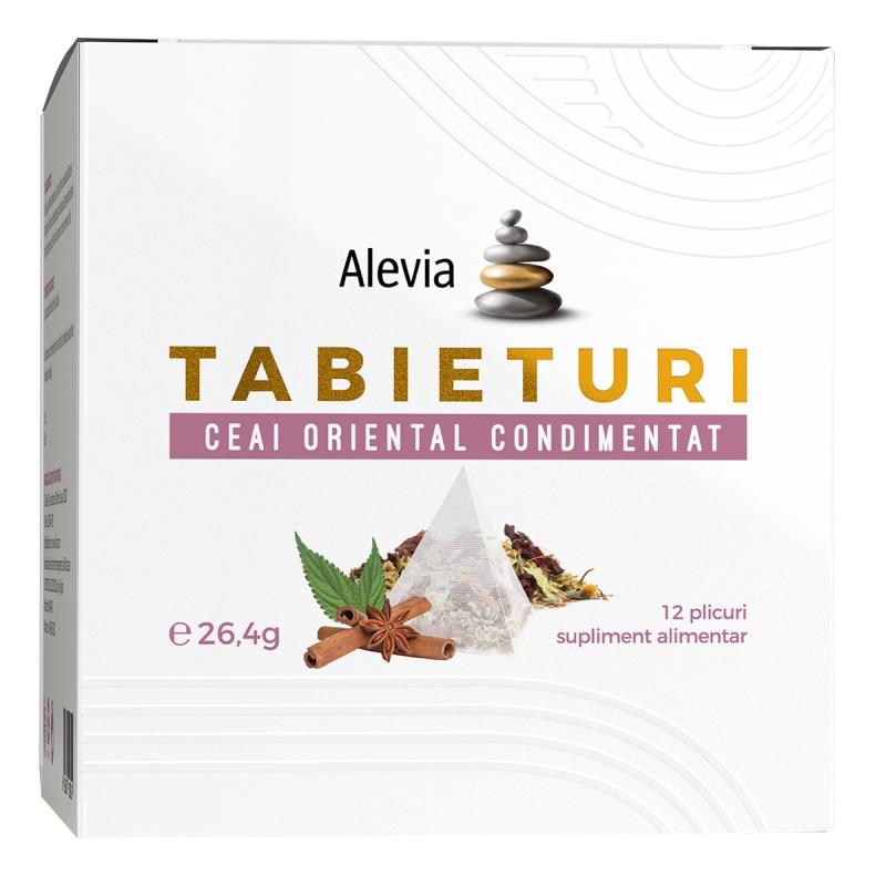 Ceai oriental condimentat Tabieturi , 12 plicuri, Alevia