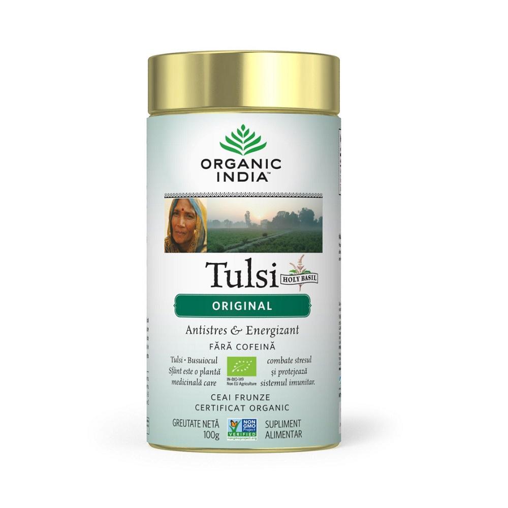 Tulsi Original Ceai, 100 g, Organic India