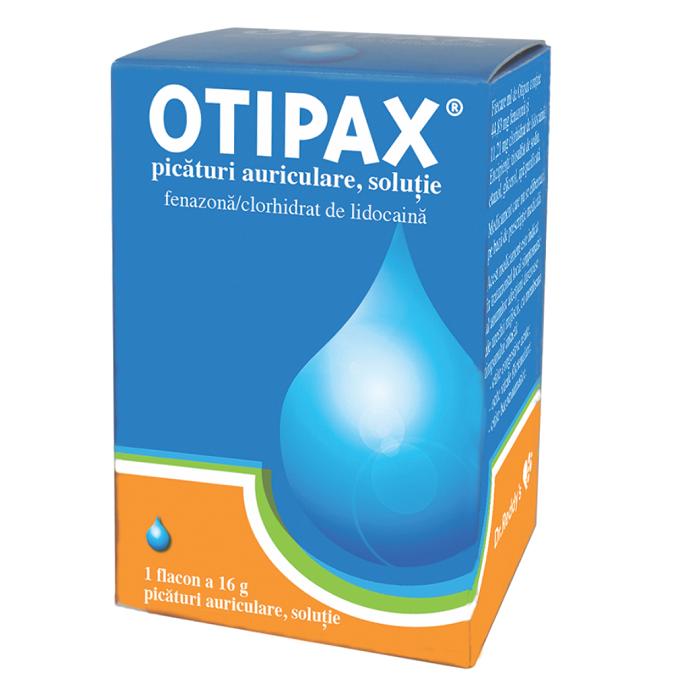 Otipax soluție, 16 g, Biocodex