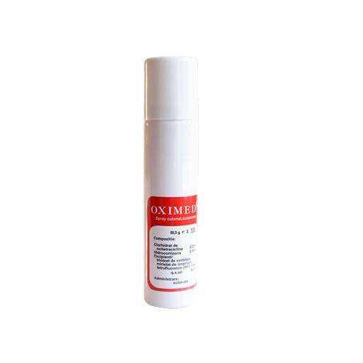 Oximed spray cutanat, 59,5 g, Mebra