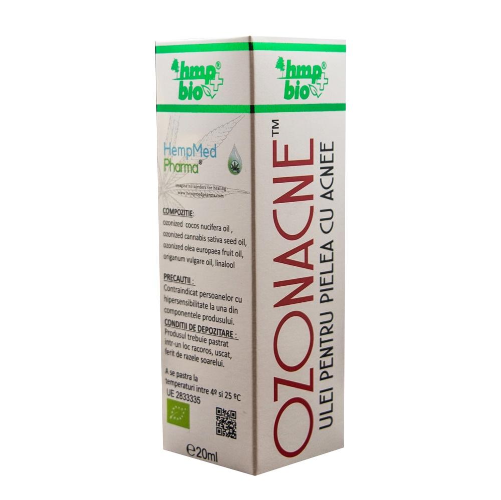 Ozonance ulei pentru piele cu acnee, 20 ml, HempMed Pharma