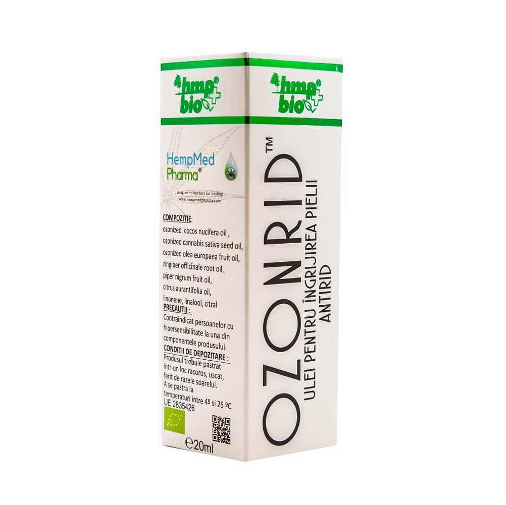 Ozonorid ulei antirid, 20 ml, HempMed Pharma