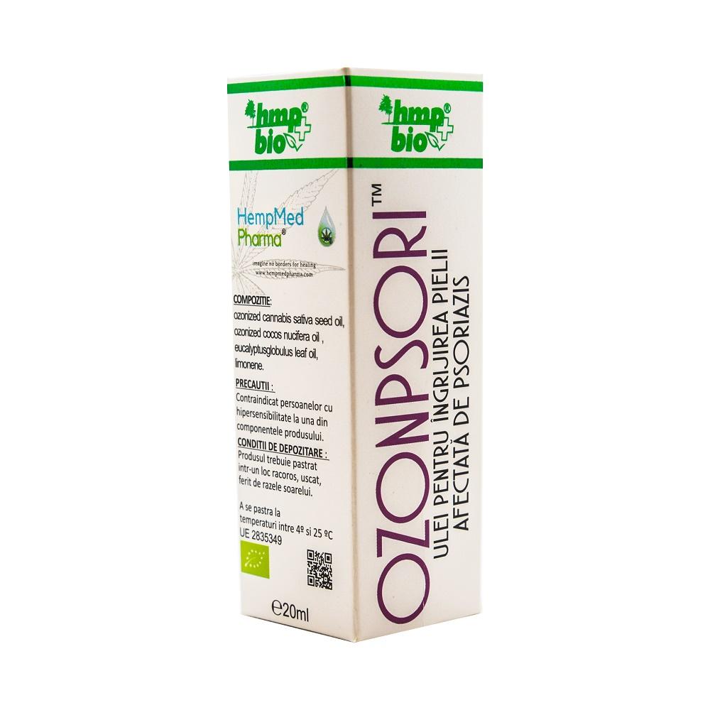Ozonpsori ulei pentru psoriazis, 20 ml, HempMed Pharma