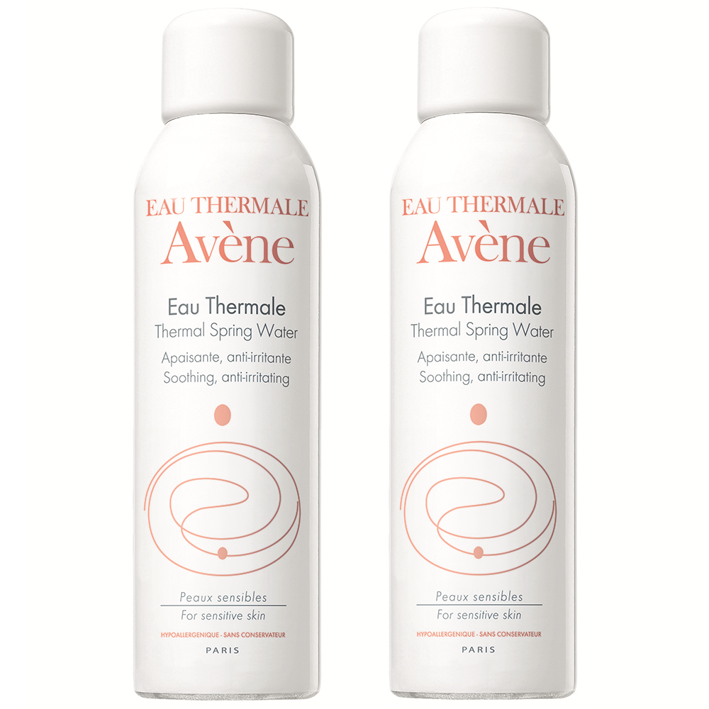 Pachet Apa termala spray, 150 ml + 150 ml, Avene