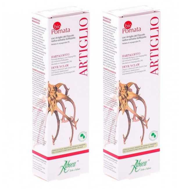 Pachet Artiglio crema, 50 ml + 50 ml, Aboca