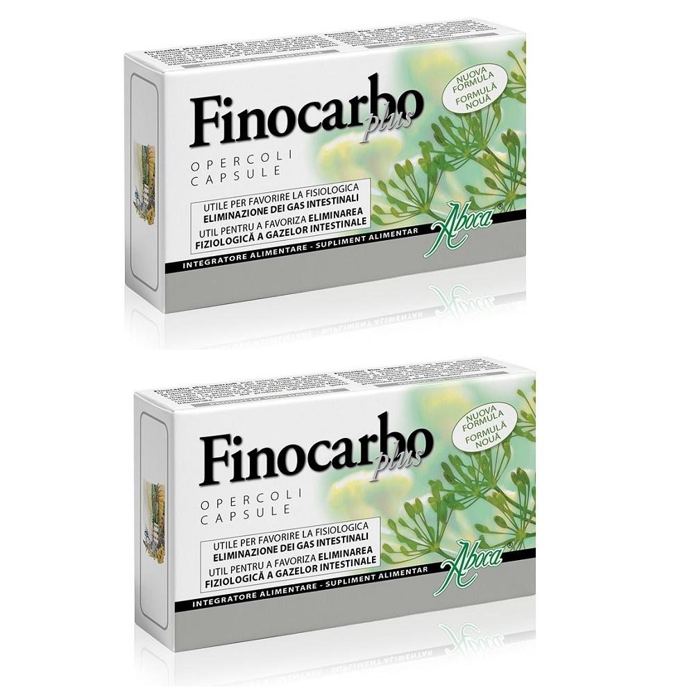 Finocarbo Plus, 20 + 20 capsule, Aboca