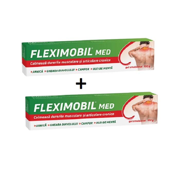 Pachet Fleximobil MED gel emulsionat (2 la preț de 1), 100 g, Fiterman Pharma