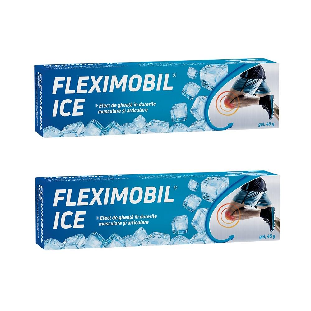 Pachet Fleximobil Ice gel, 45g (2 la pret de 1), Fiterman