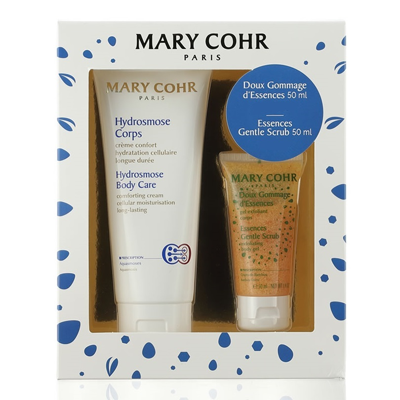 Pachet Lotiune hidratanta pentru corp Hydrosmose Corps, 200 ml + Exfoliant pentru corp Gommage Essence, 50 ml, Mary Cohr