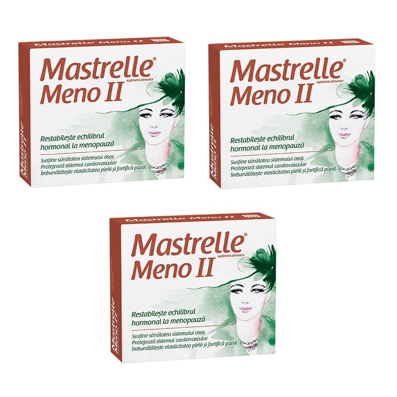 Pachet Mastrelle Meno II (3 la preț de 2), 30 capsule, Fiterman Pharma