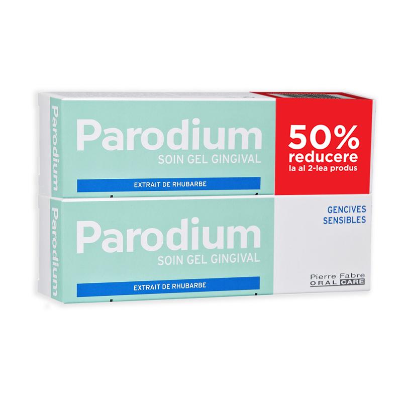 Pachet Gel gingival, 50 ml + 50 ml, Parodium