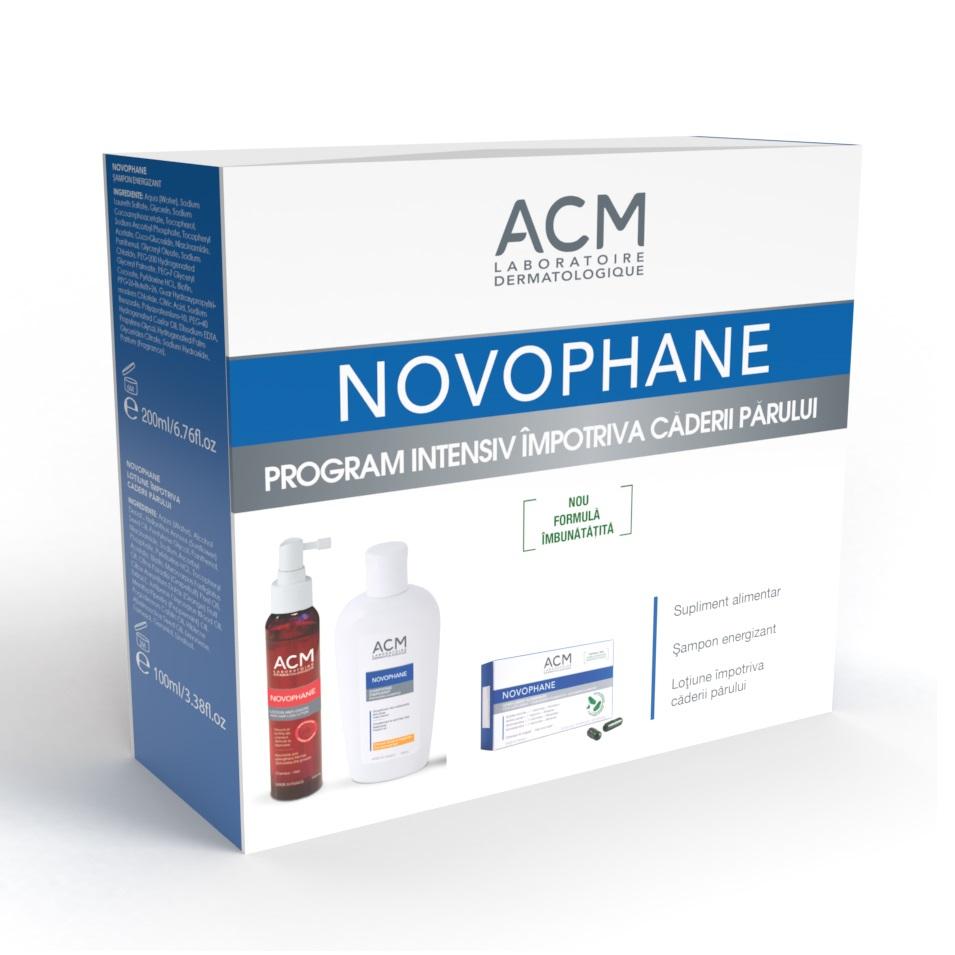 Pachet Șampon, Loțiune și Capsule Novophane, Acm