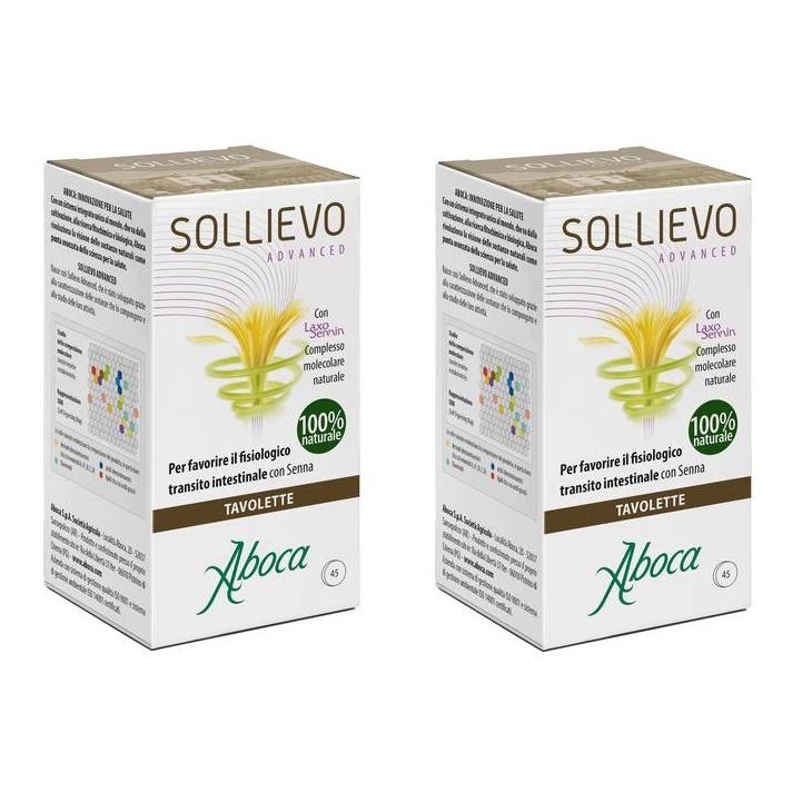 Pachet Sollievo Advanced, 45+45 comprimate (1+1), Aboca