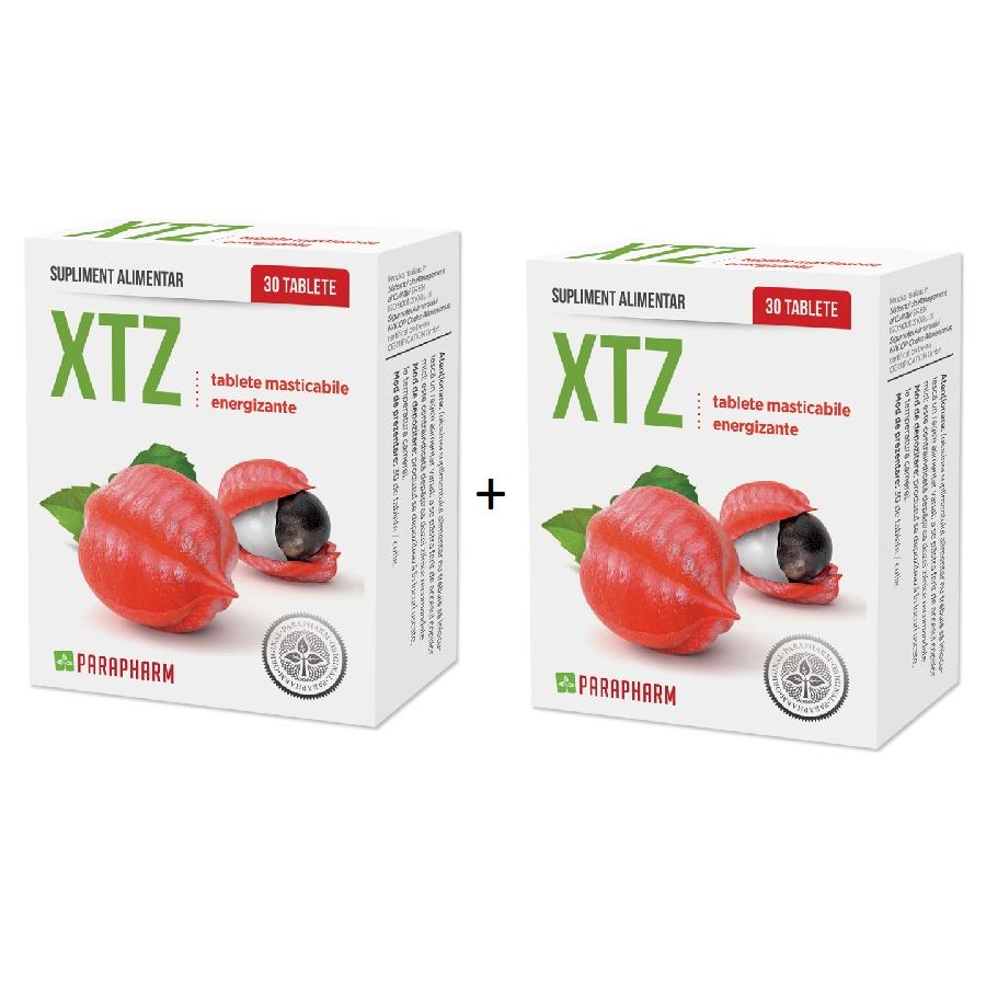 Pachet Xtz Energy, 30+30 tablete (1+1), Parapharm