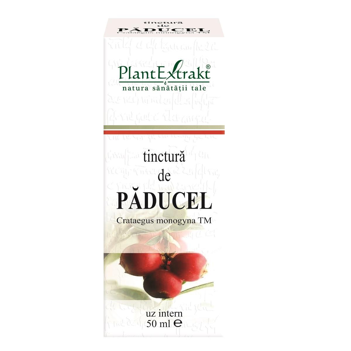 Tinctură de Păducel, 50 ml, Plant Extrakt