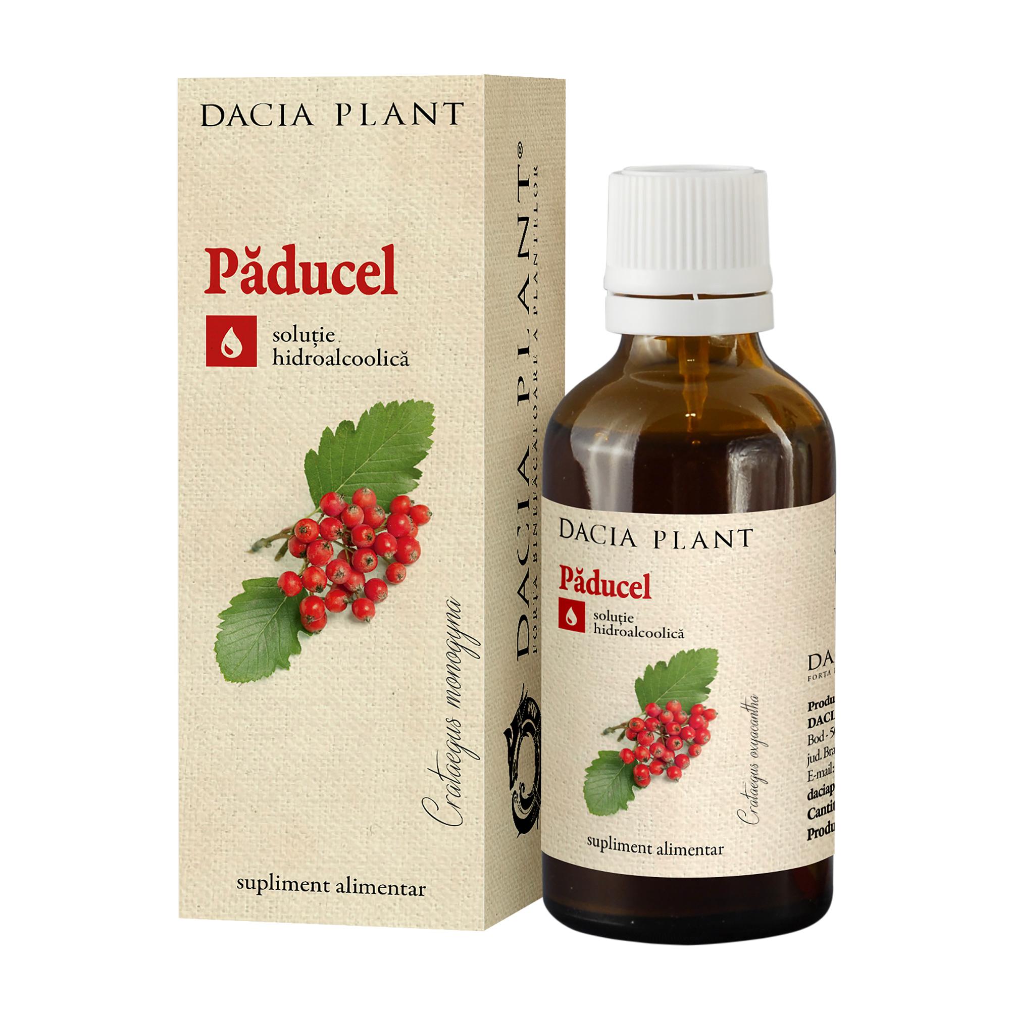 Tinctură de Păducel, 50 ml, Dacia Plant