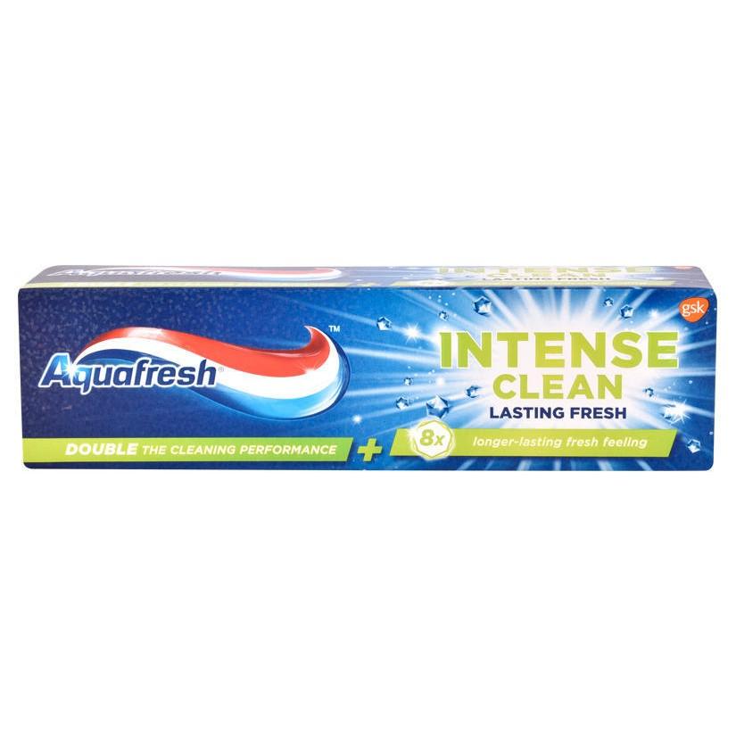 Pastă de dinți Intense Clean Aquafresh, 75 ml, Gsk