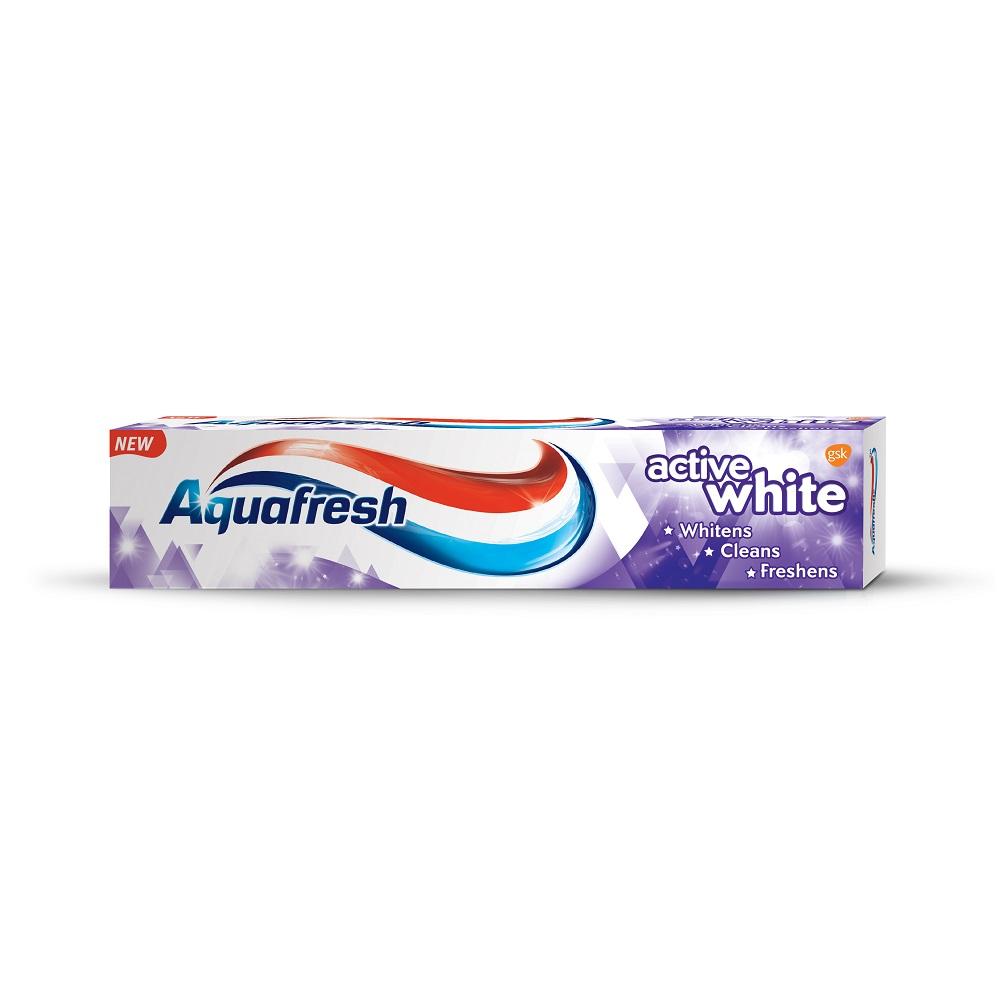 Pastă de dinți Active White Aquafresh, 125 ml, Gsk