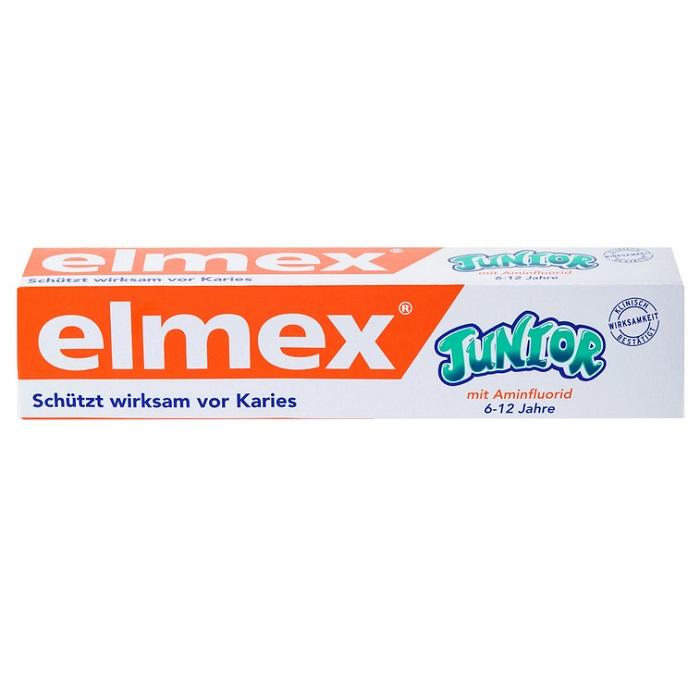 Pastă de dinți anticarie Junior 6-12 ani, 75 ml, Elmex