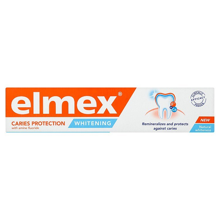 Pastă de dinți Caries Protection Whitening , 75 ml, Elmex