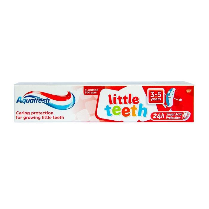 Pasta de dinti Little Teeth Aquafresh, 50 ml, Gsk