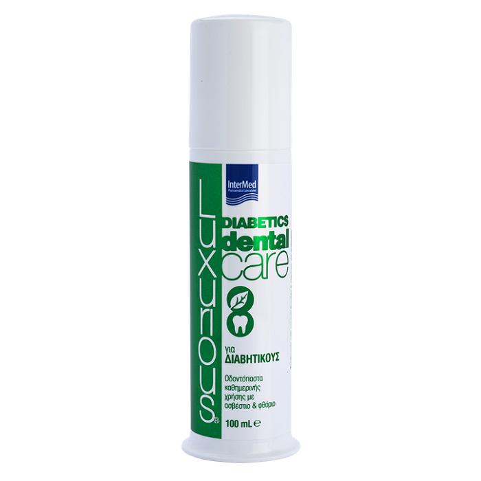 Pastă de dinți pentru diabetici Luxurious Dental Care Diabetics, 100 ml, Intermed
