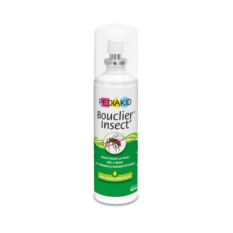 Spray anti țânțari și căpușe Bouclier Insect, 100 ml, Pediakid