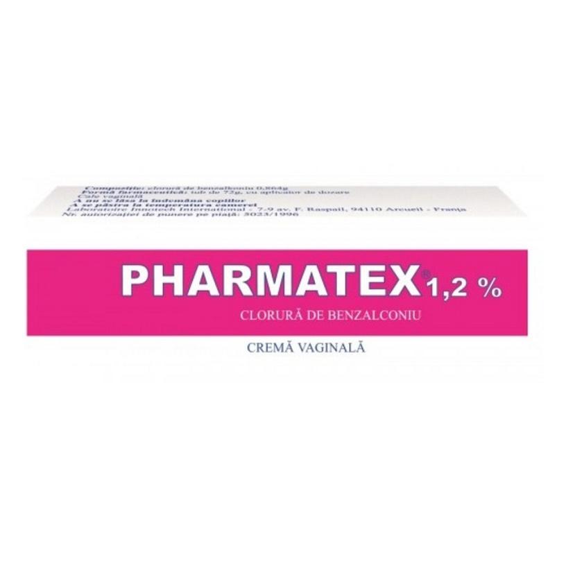 Pharmatex 1.2% crema vaginala, 72 g, Innotech