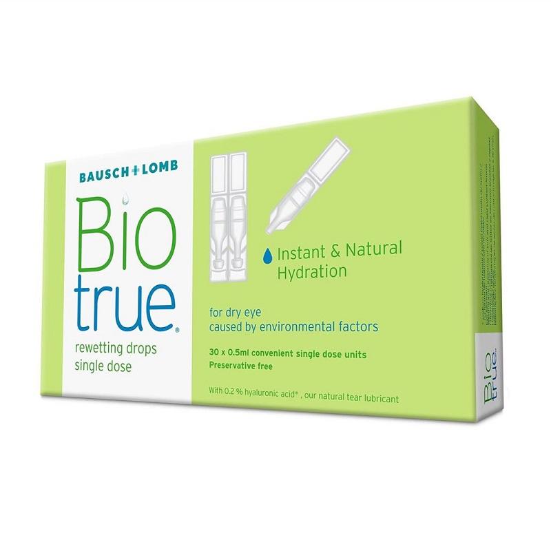 Picaturi oftalmice Biotrue 0.5 ml, 30 unidoze, Bausch + Lomb