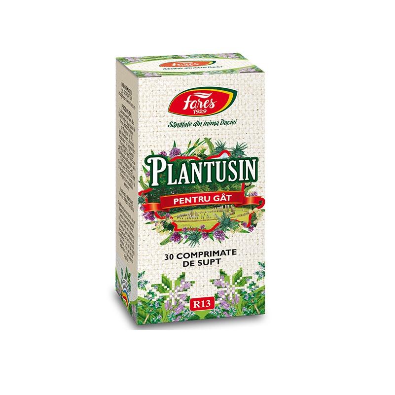 Plantusin, R13, 30 capsule, Fares