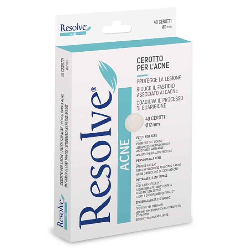 Plasturi Acnee Resolve, 40 bucăți, Pietrasanta Pharma
