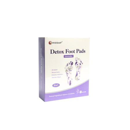Plasturi detoxifianti pentru talpi Lavanda, 10 plasturi, Hebel Houde Hanfang Medical Devices CO.