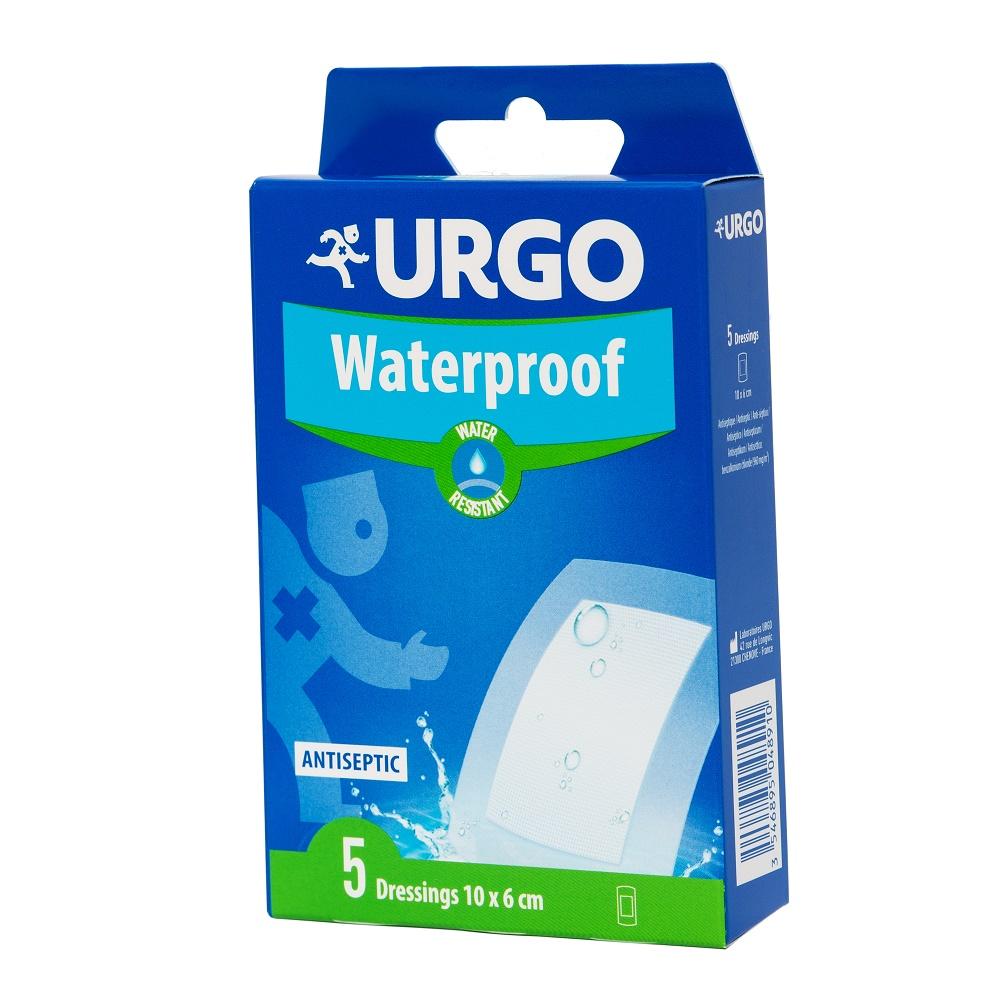 Plasturi impermeabili, 10x6 cm, 5 bucăți, Urgo