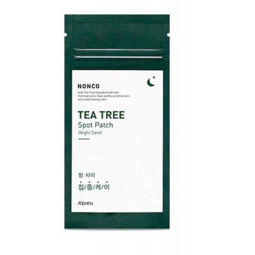 Plasturi pentru cosuri cu arbore de ceai, NONCO, 10 bucati,  Apieu