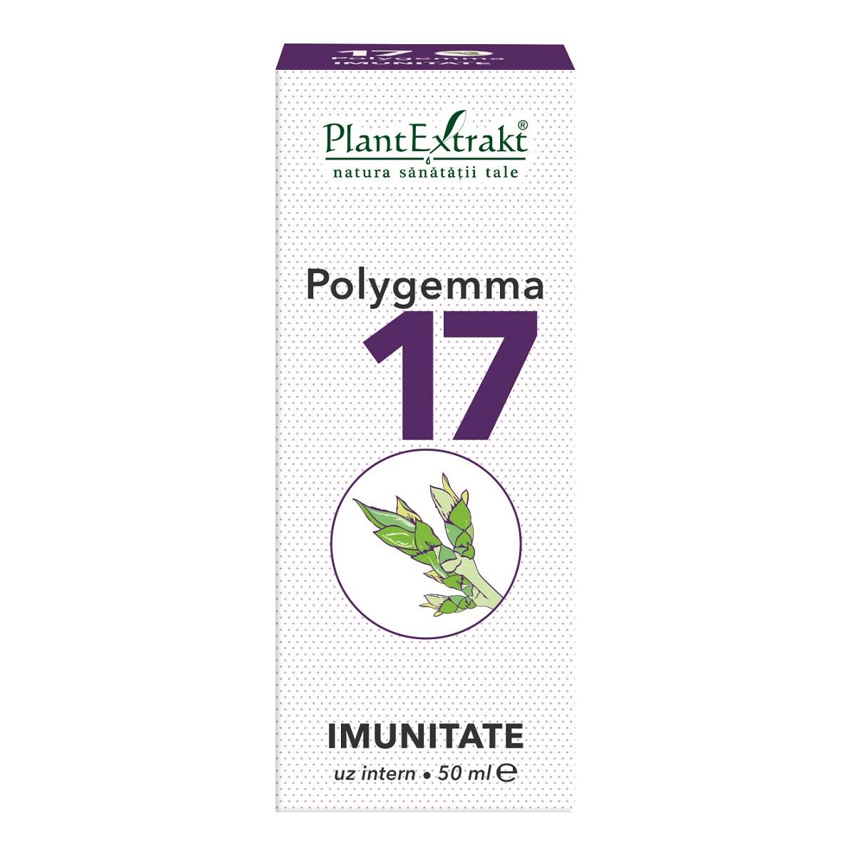 Polygemma 17 Imunitate, 50 ml, Plant Extrakt
