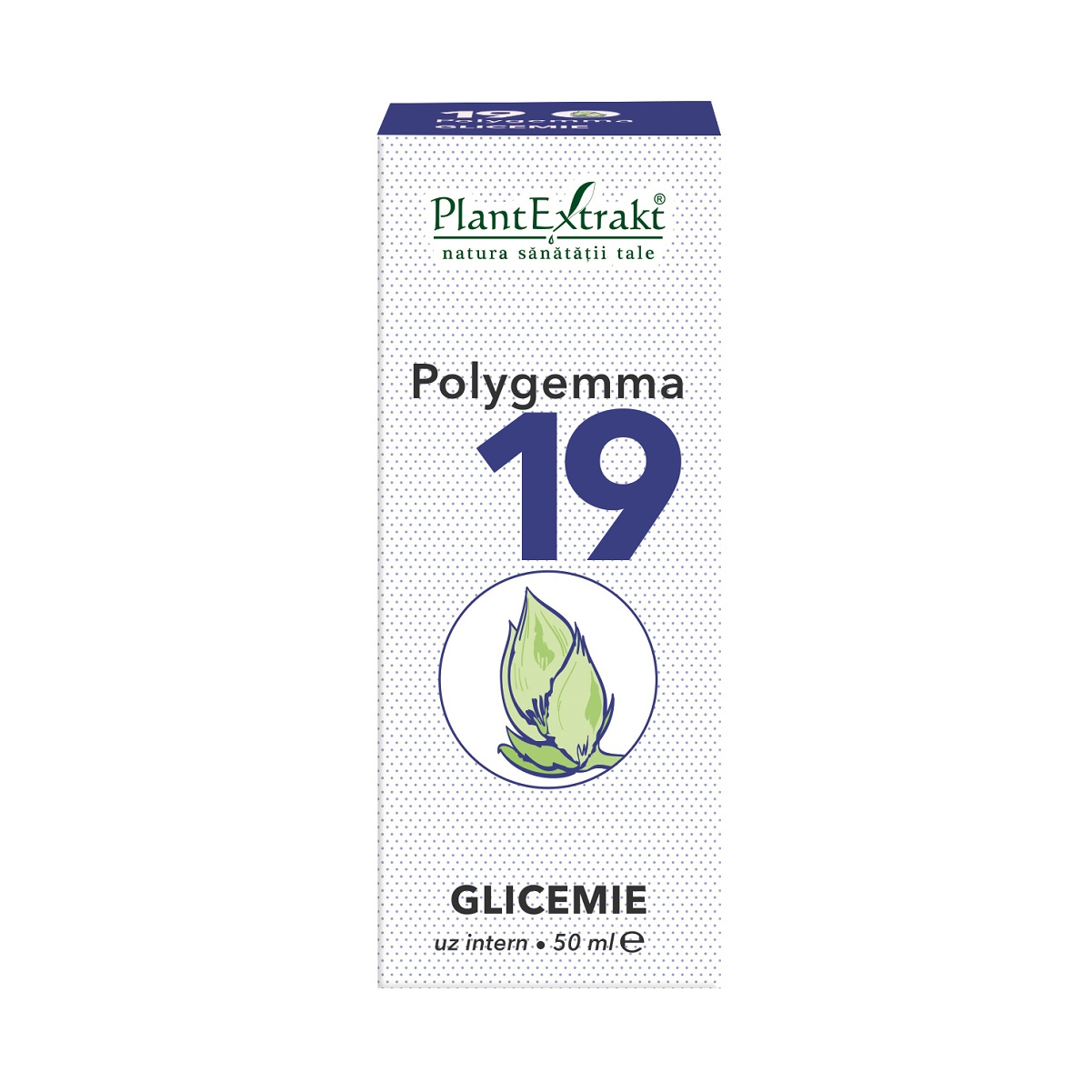 Polygemma 19 Glicemie, 50 ml, Plant Extrakt