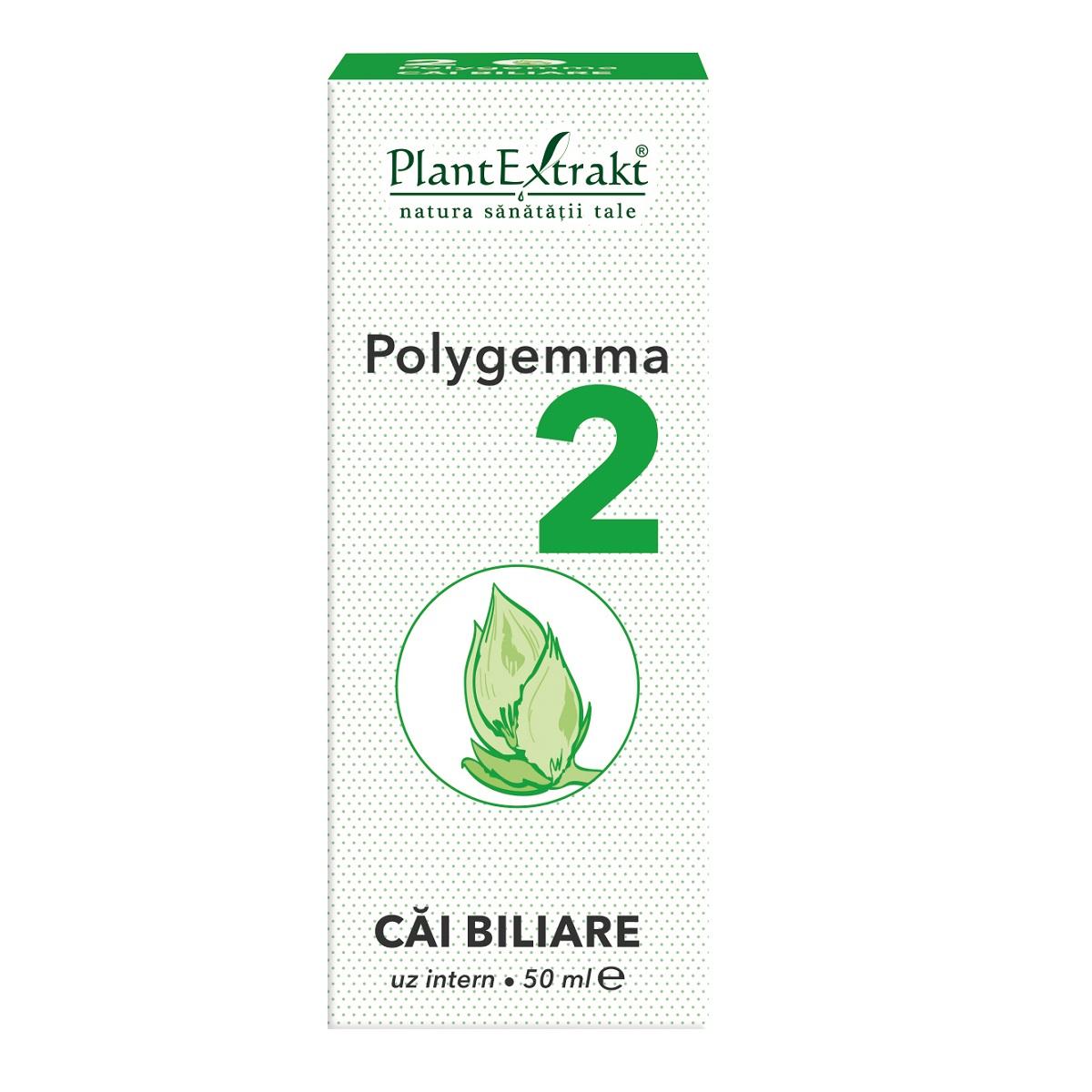 Polygemma 2, Căi biliare, 50 ml, Plant Extrakt