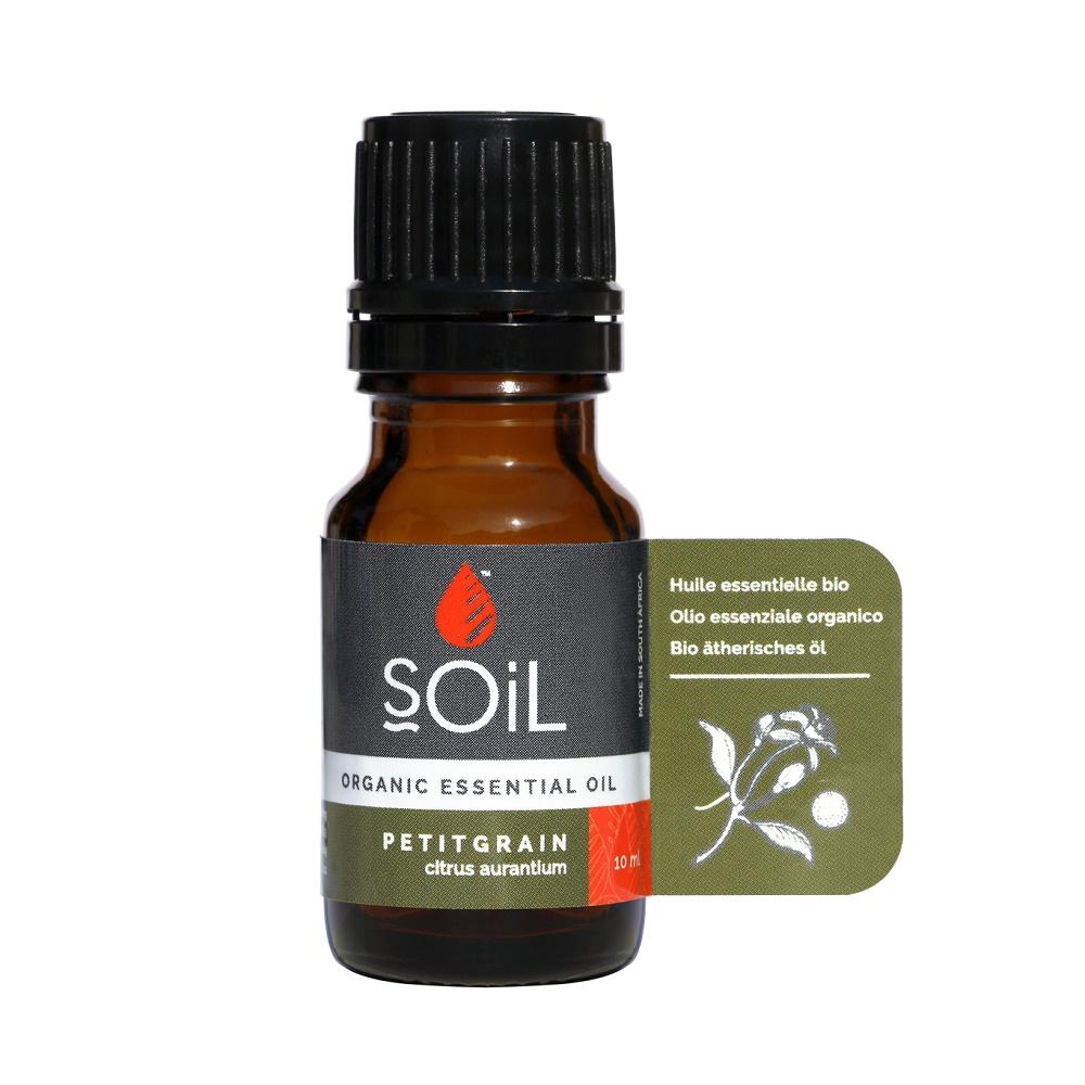 Ulei Esențial Portocală Amară Pur 100% Organic, 10 ml, SOiL